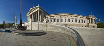 The Austrian Parliament Royalty Free Stock Photography
