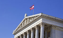 Austrian Parliament Stock Image