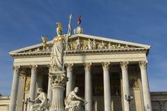 Austrian parliament Stock Photography