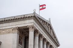 Austrian Parliament. Royalty Free Stock Photography