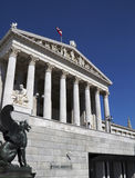 Austrian Parliament Building, Vienna Stock Photography
