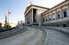 Austrian Parliament Building Stock Images