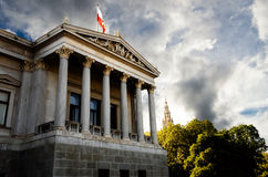 Austrian Parliament Building Stock Photography