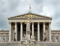 Austrian Parliament Royalty Free Stock Photography