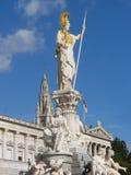 Austrian Parliament in Vienna Stock Image
