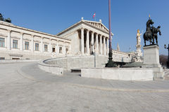 Austrian parliament in Vienna Stock Images