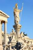Austrian Parliament in Vienna, Austria Stock Photography