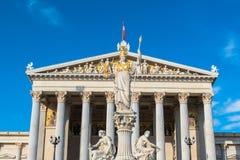 Austrian Parliament in Vienna Stock Images