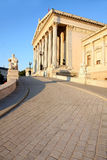 The Austrian Parliament in Vienna, Austria Royalty Free Stock Image
