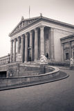 Austrian parliament, Vienna, Austria Royalty Free Stock Photography