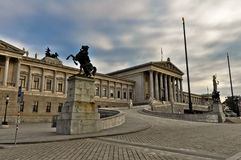 Austrian Parliament, Vienna Royalty Free Stock Image