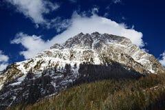Austrian peak landscape Stock Image