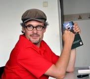 Austrian political scientists Thomas Schmidinger Stock Photography