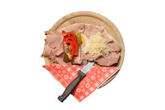 Austrian sandwich royalty free stock image