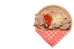 Austrian sandwich from Styria Stock Photography