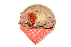 Austrian sandwich from Styria Stock Images