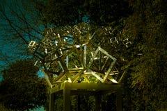 Austrian Sculptures Park - Fraktal 03 royalty free stock photography