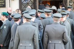 Austrian soldiers Royalty Free Stock Photography