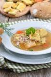Austrian soup Stock Photo