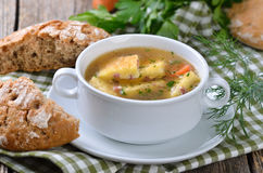 Austrian soup Stock Photography