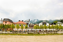 Austrian spa resort town Bad Ischl Royalty Free Stock Photo