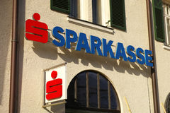 Austrian Sparkasse Royalty Free Stock Image