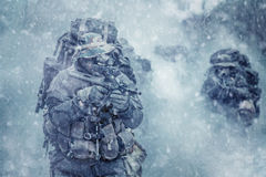 Austrian special forces Royalty Free Stock Photos