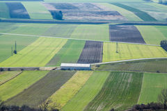 Austrian spring fields royalty free stock image