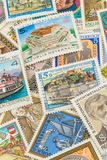Austrian stamps Royalty Free Stock Images