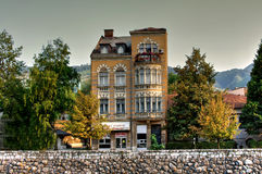 Austrian style home, Sarajevo, Bosnia Herzegovina Royalty Free Stock Photo
