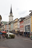 Austrian town of Village, Carinthia, Austria Stock Photos