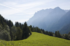 Austrian Tyrol and Lienzer Dolomites Stock Photo