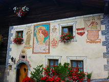 Austrian Tyrol wonderful image of summer Royalty Free Stock Photography