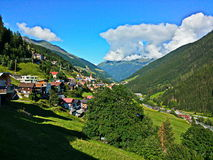 Austrian Tyrol wonderful image of summer Stock Images