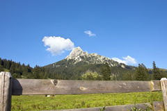 Austrian Valley Royalty Free Stock Image