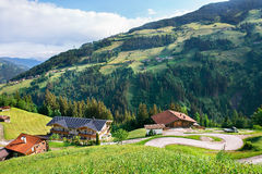 Austrian village Royalty Free Stock Photography