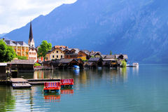 Austrian village Stock Photography