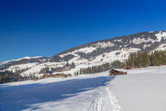 Austrian Winter Royalty Free Stock Photo