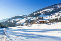 Austrian Winter Royalty Free Stock Image