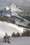 Austrian Winter Scene Royalty Free Stock Photo