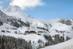 Austrian Winter Scene Stock Image
