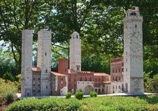 AustriaThe town of San Gimignano, Tuscany, Italy. Klagenfurt. Miniature Park Stock Photography