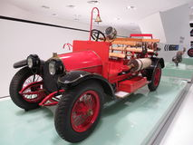 Austro-Daimler Motorspritze fire truck in Porsche museum Royalty Free Stock Photos