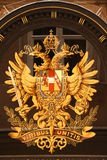 Austro-Hungarian monarchical emblem Stock Images