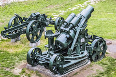 Austro Hungarian WWI Siege Howitzer 305 mm Royalty Free Stock Photos