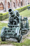 Austro Hungarian WWI Siege Howitzer 305 mm. Austro Hungarian WWI siege Howitzer Škoda 305 mm Mörser model 1911 Royalty Free Stock Photo