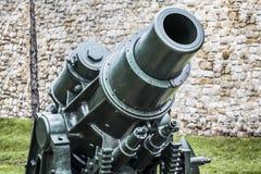 Austro WWI Węgierski Oblężniczy granatnik 305 mm  Zdjęcie Stock