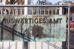 Auswärtiges amt Bonn Germany fotografia royalty free