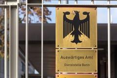 Auswärtiges amt Bonn Germany obrazy stock