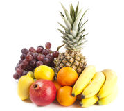 Auswahl der Früchte lizenzfreies stockbild